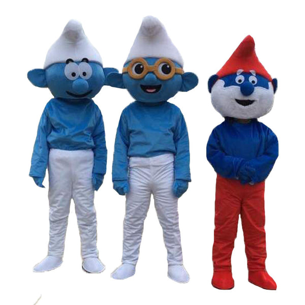 New Blue Elves Mascot Costume    Christmas Party Suit   Adult size - LADSPAD.UK