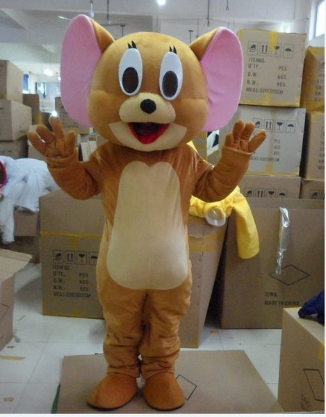 Jerry Tom Cat and mouse mascot costume / Halloween / reality mouse and Tom Anime / Party - LADSPAD.UK