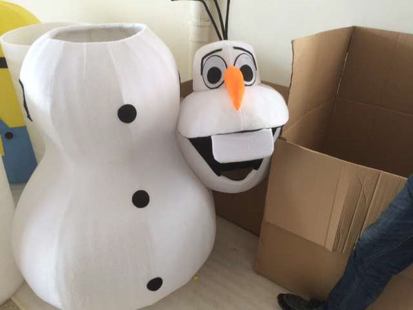 High quality Olaf mascot costume Adult size - LADSPAD.UK