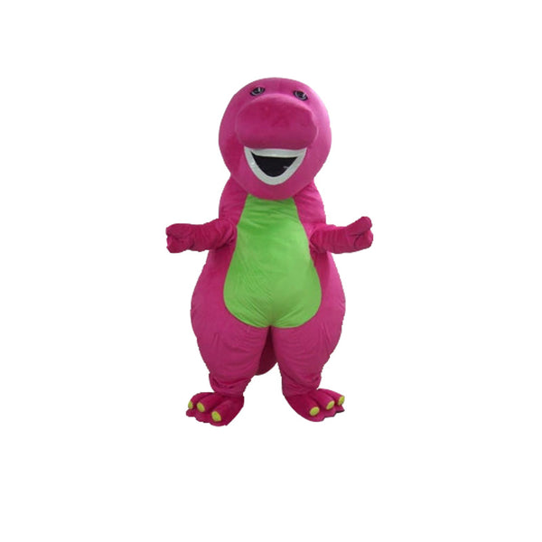 Hot sale Barney Dinosaur mascot costume    Free shipping - LADSPAD.UK