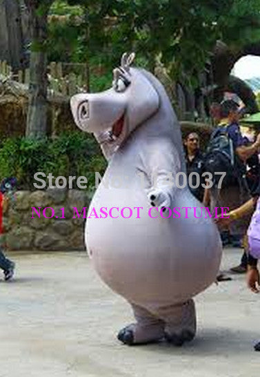 hippo mascot gloria costume anime cartoon character cosplay show carnival costume fancy dress - LADSPAD.UK