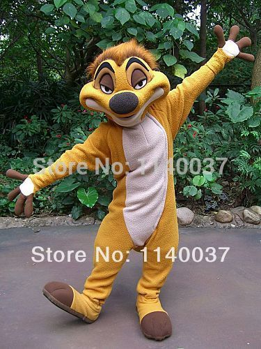 mascot Timon Mascot Costume custom fancy costume anime cosplay kits mascotte theme fancy dress carnival costume - LADSPAD.UK