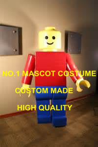 Hot Cartoon Character block bricks minifigs costume Mascot Carnival Fancy Dress Mascotte Suit Kits Theme1843 - LADSPAD.UK