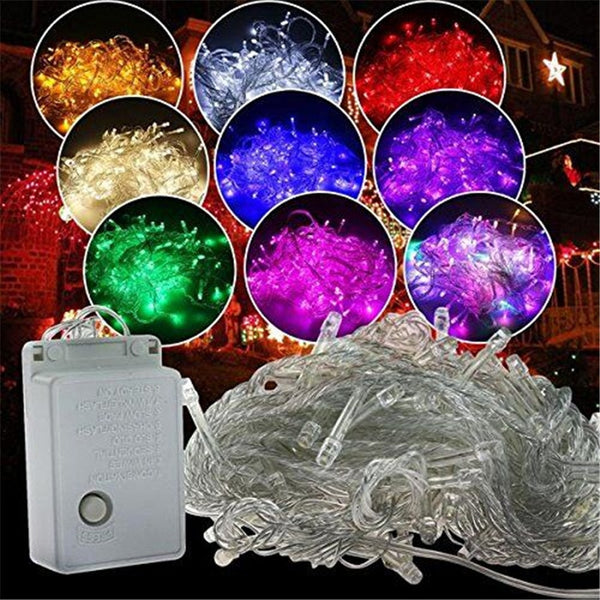 ECLH 10M 5M 100Led 40Led String Garland Christmas Tree Fairy Light Luce Waterproof Home Garden Party Outdoor Holiday Decoration - LADSPAD.COM