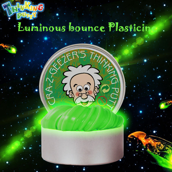 DIY Luminous Slime Modeling Clay Light Glow In The Dark Bouncing Mud Plasticine Playdough Education Novelty Creative Toys - LADSPAD.UK