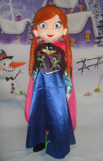Olaf mascot costume Elsa mascot costume and princess anna mascot costume  Free shipping - LADSPAD.UK