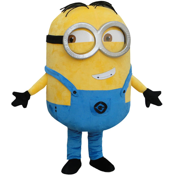 o Despicable minion mascot costume for adults despicable mascot costume
