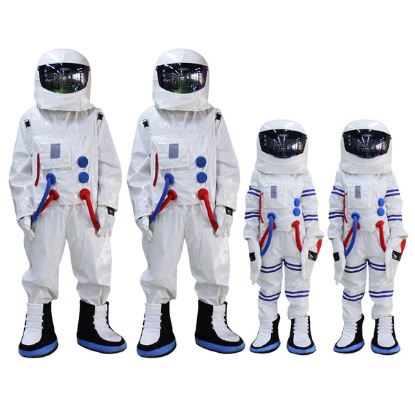 Adult and Kids size Spaceman Mascot Costume Astronaut mascot costume for Halloween Party Dress outfit - LADSPAD.COM