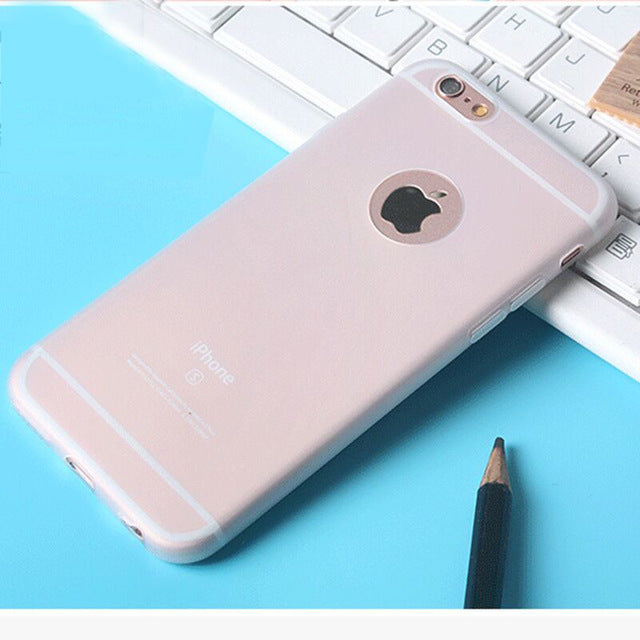 MOUSEMI Soft Case For iPhone 6 8 Plus X Case Protection Silicone Cute Pink Protective Back Phone Cases 5S For iPhone 6s 7 Case - LADSPAD.COM