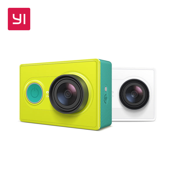 YI Action Camera 1080P Lime Green White Black 16MP Full HD 155 degree Ultra-wide Angle Sports Mini Camera - LADSPAD.COM