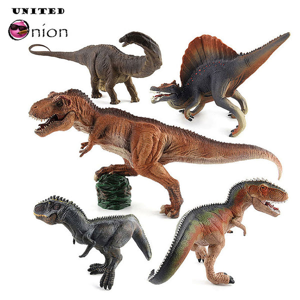 Simulation Dinosaur Figures Action Jurassic Fallen World Kingdom Park 2 3 4 5 Collection Toys Plastic Kids Models Play Child