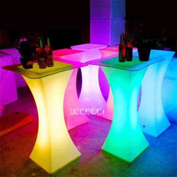 XC-018 European LED Light Bar Table Rechargeable Led Illuminated Table Waterproof Lighted Up Coffee Table Bar kTV Party Supply - LADSPAD.COM