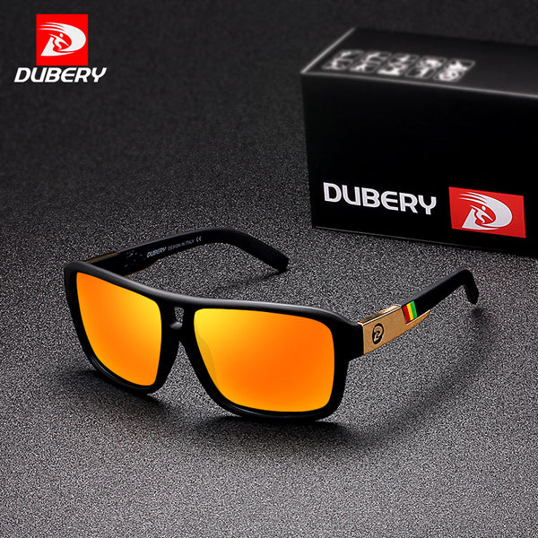 DUBERY  Men's Polarized  Sunglasses Aviation Driving Sun Glasses Men Women  Sport  Fishing  Luxury Brand Designer Oculos UV400 - LADSPAD.UK