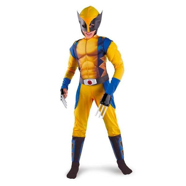 Promotion Boys X-man Logan Origins Marvel Superhero Halloween Costumes Kids Carnival Party Performance Cosplay Clothing - LADSPAD.COM
