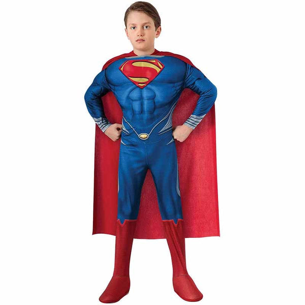 High Quality Children Superman Cosplay Clothing Halloween Costume For Kids - LADSPAD.UK