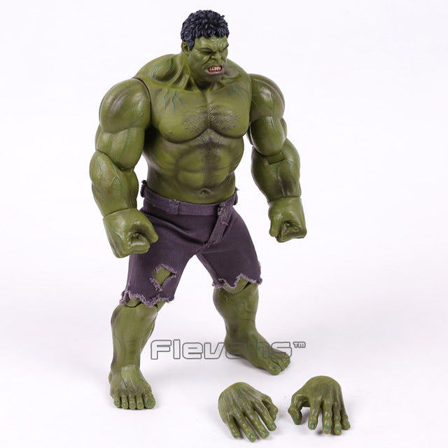 Marvel The Avengers Hulk Super Hero PVC Action Figure Collectible Model Toy 25cm - LADSPAD.UK