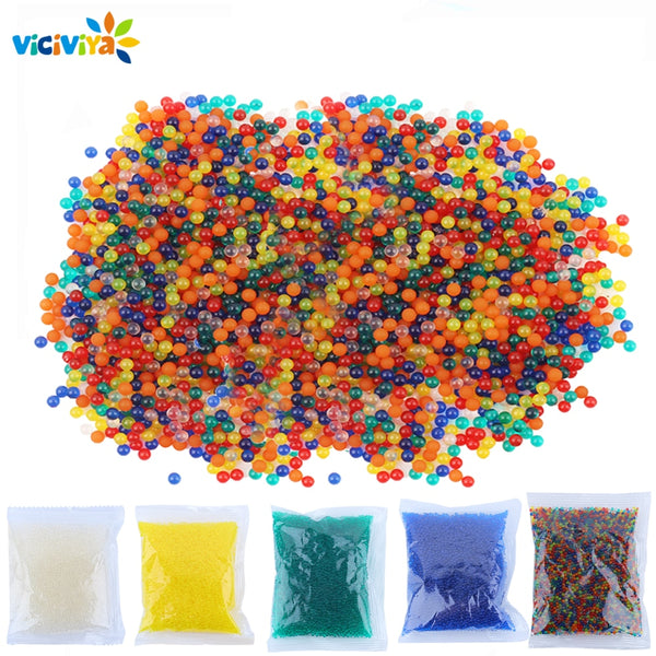 Viciviya Paintball gun for orbeez toys crystal bullet colored soft bullet for orbeez gun paint ball gun funny toys