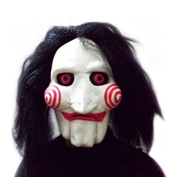 Movie Saw Chainsaw massacre Jigsaw Puppet Mask - LADSPAD.UK