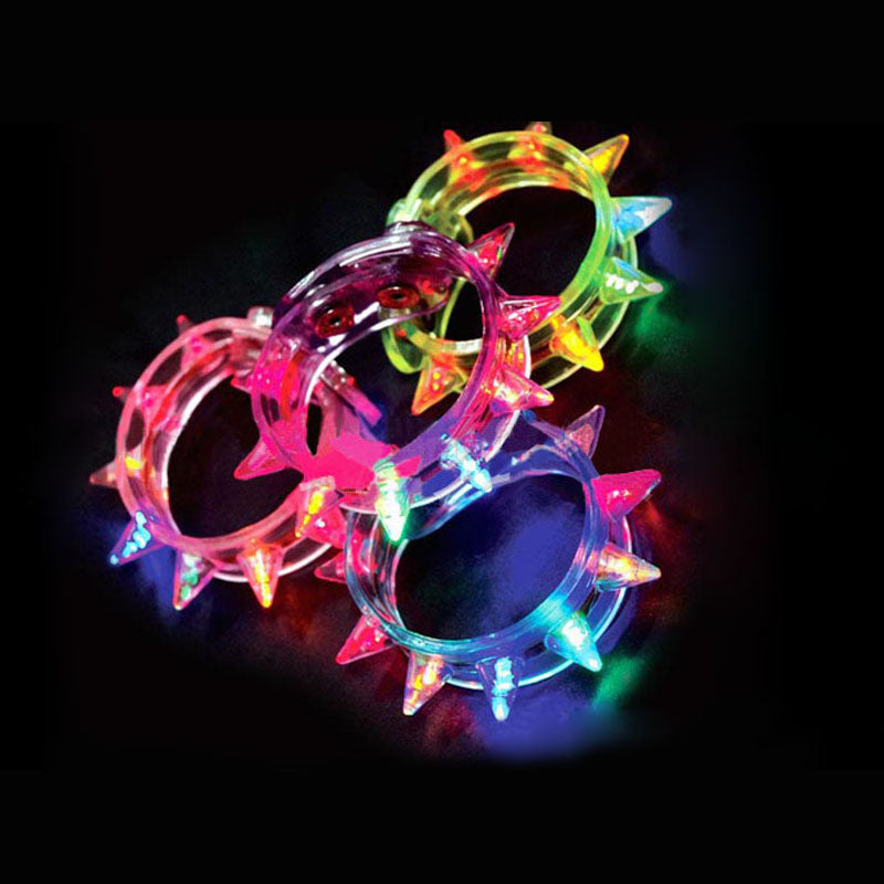 New Arrival Multi colors night glow stick flashing bracelet - LADSPAD.COM