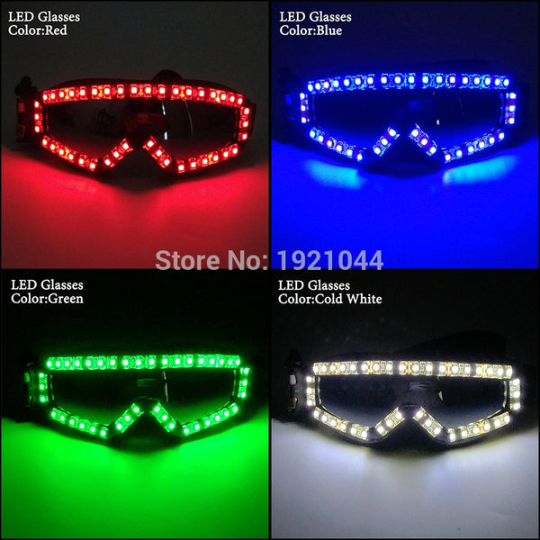 New Style Fashion LED Glasses Custom Rave Glasses Laser Glasses for Nightclub Decoration