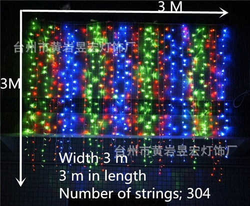 Christmas Decorations for Home Lights Outdoor Led String Warm White Adornos Navidad Natal Decoracion Kerst 12 Lamp - LADSPAD.COM