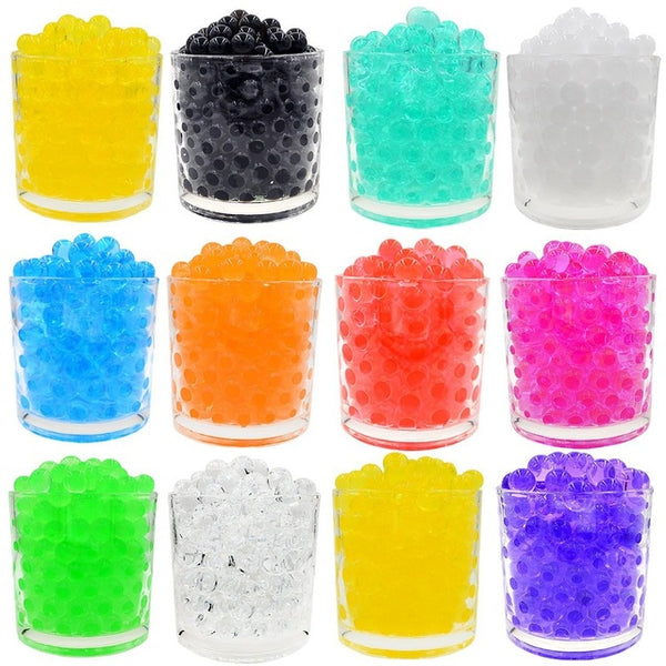 200Pcs/Bag Water Gun Bullet Toy Orbeez Soft Crystal Water Paintball Gun Bullet Grow Water Beads Balls Outdoor Orbita Gun Toy - LADSPAD.UK