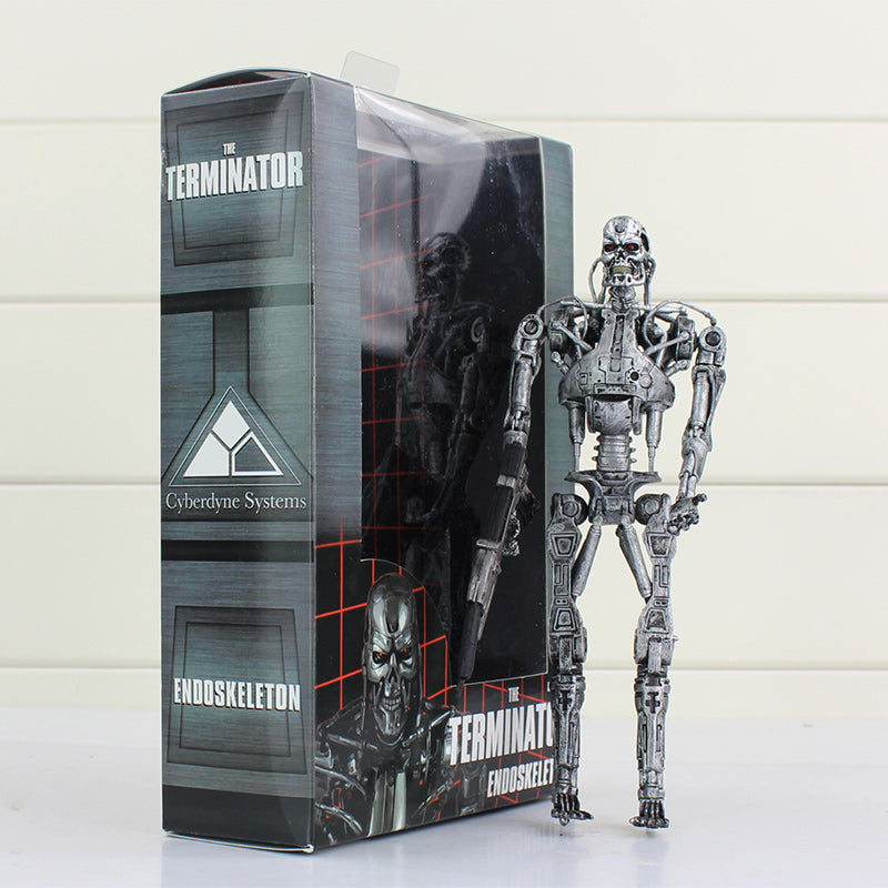 NECA Terminator Endoskeleton PVC Action Figure Collectible Model Toy Gift For Kids 18cm - LADSPAD.COM