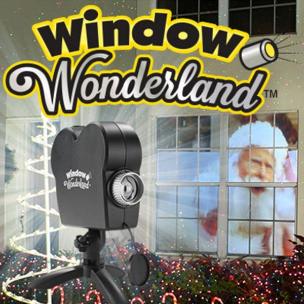 Window Wonderland Projector with 12 Movies Christmas Halloween Window Projector Party Holiday Decoration Dropshipping - LADSPAD.COM