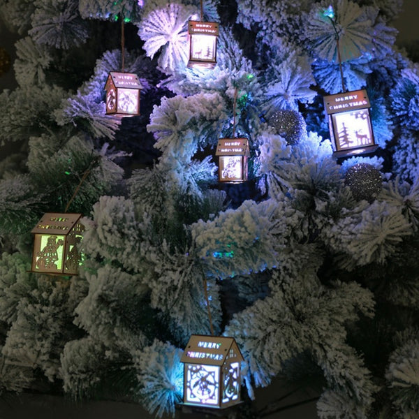 1 PCS LED Christmas Tree House Style Fairy Light Led wedding natal Garland New Year christmas decorations for home - LADSPAD.COM