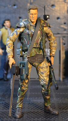 NECA Colony Marine Corps Mercenary Soliders AVP Predator Aliens 2 7inch movable doll Action Figure - LADSPAD.COM