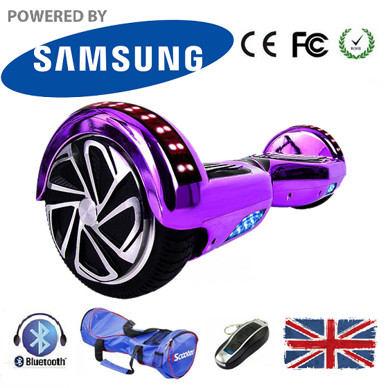 2019 APP Enabled Bluetooth LED Segway Hoverboard - LADSPAD.UK