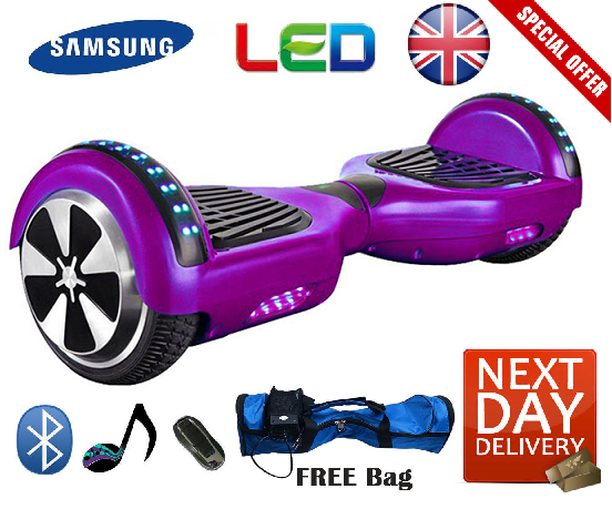 2020 APP Enabled Bluetooth LED Segway Hoverboard - LADSPAD.COM