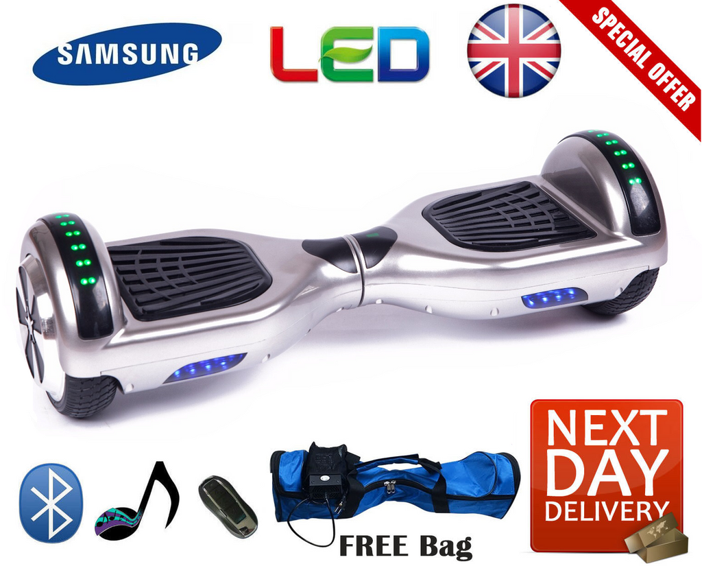 Limited Edition Bluetooth LED Segway Hoverboard - LADSPAD.UK