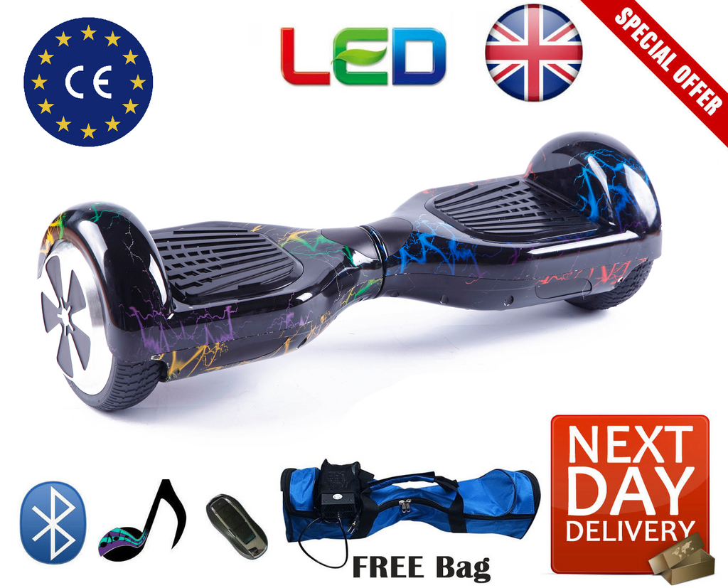 Limited Edition Bluetooth LED Segway Hoverboard