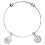 Innerstrength Bangle Silver Plate