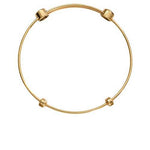 Plain Bangle Gold Plated