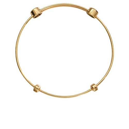 Plain Bangle Gold Plate