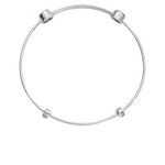 Plain Bangle Silver Plated