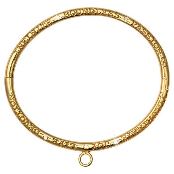 Illuminate Joy Bangle Gold Plated