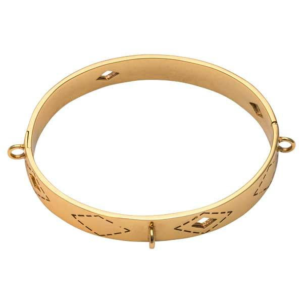 Wild Spirit Bangle Gold Plate