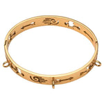 Wild Heart Bangle Gold Plate