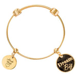 Dream Big Bangle Gold Plate