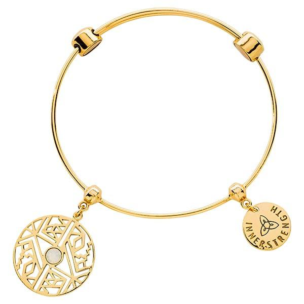 Wild And Free Bangle Gold Plate