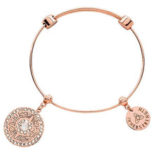 Aztec Bangle Rose Gold Plate