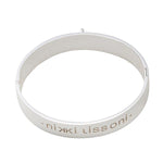 Nikki Lissoni Bangle Silver Plated