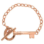 Nikki Lissoni - Key For Everything Bracelet Rose Gold Plate