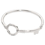 Nikki Lissoni - Key To Everything Bangle Silver Plate