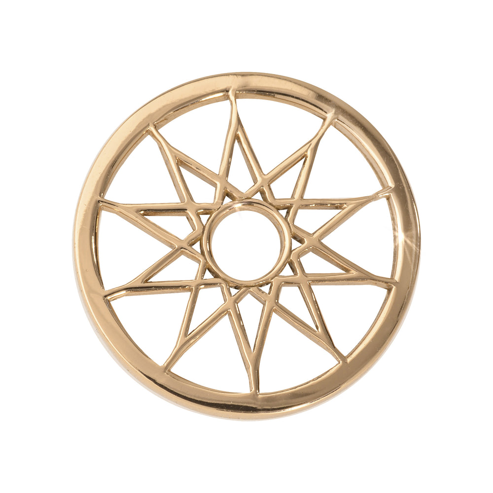 Nikki Lissoni - Dreamcatcher Gold Plate 23mm Coin