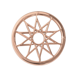 Nikki Lissoni - Dreamcatcher Rose Gold Plate 23mm Coin