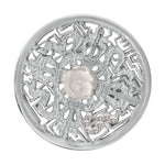 Nikki Lissoni - Kingdom Of Roses Silver Plate 33mm Coin